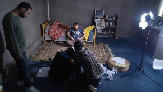 Amer Albarzawi, tournage